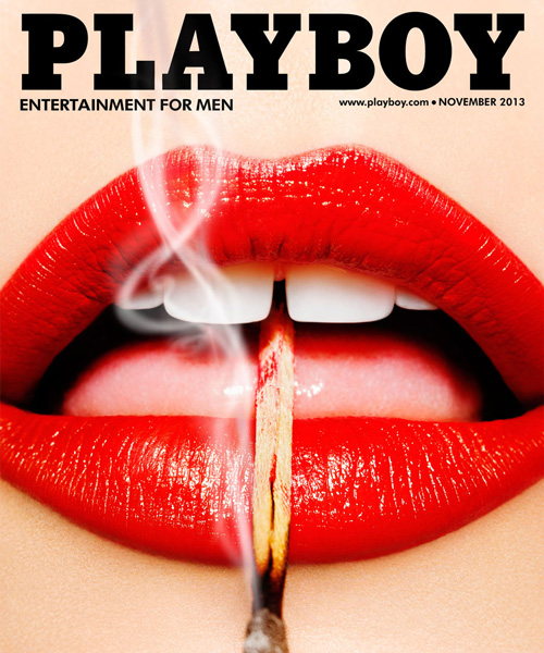 Just like Play boy T (2color)